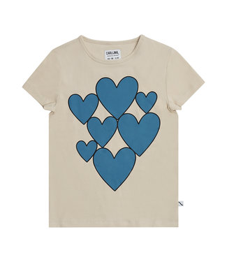 Carlijn Q Tshirt Heart Print