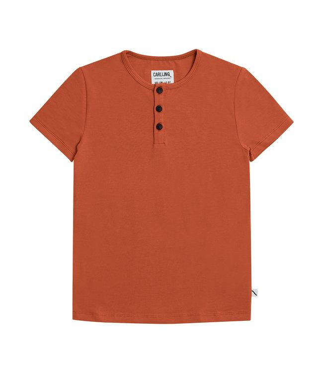 Carlijn Q Tshirt basic Henley Short sleeves