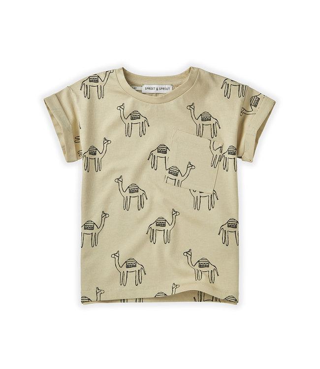 T-Shirt Camel Sesam