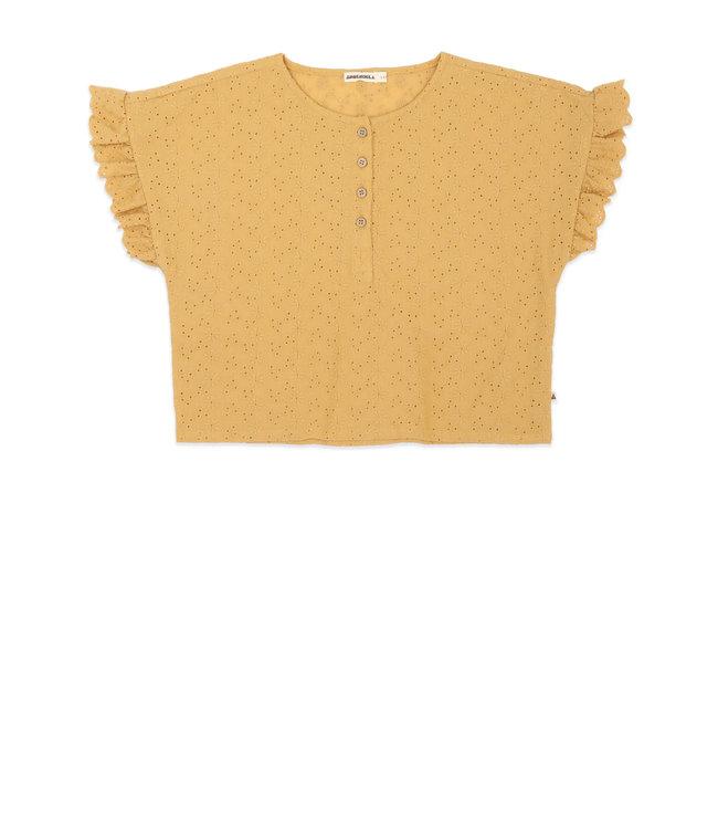 Ammehoela Tshirt June Mustard Yellow