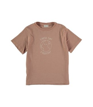 My Little Cozmo Tshirt Terra Cotta PoetK