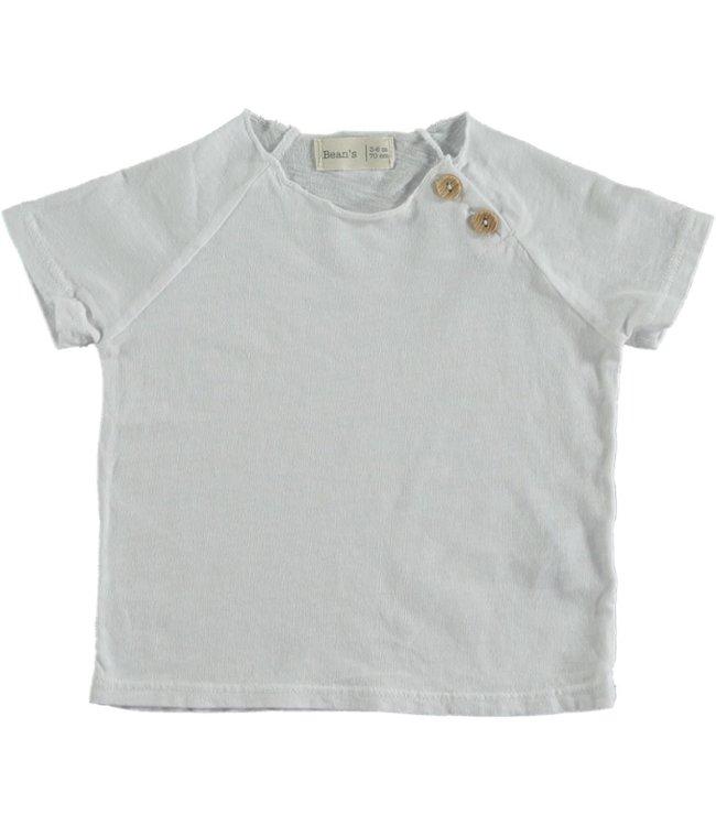 Beans Barcelona Cotton Tshirt White