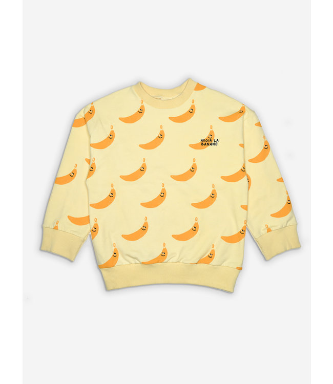 Maison Tadaboum Sweater banana