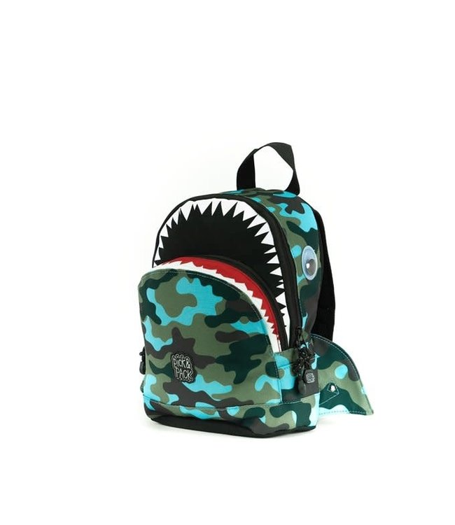 Pick n Pack Rugzak Shark Shap Camo maat S