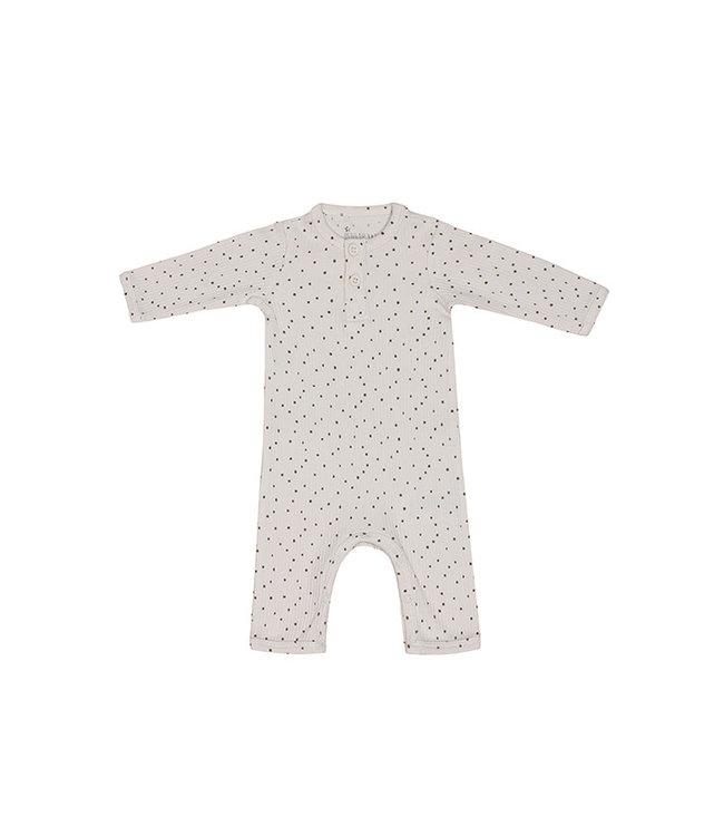 Kids Up Boxpak Jumpsuit Dot Wit 2 kleuren