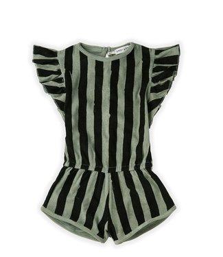 Jumpsuit Painted Stripes