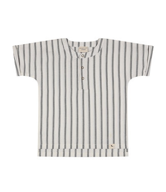 Turtledove Wide Stripe Shirt