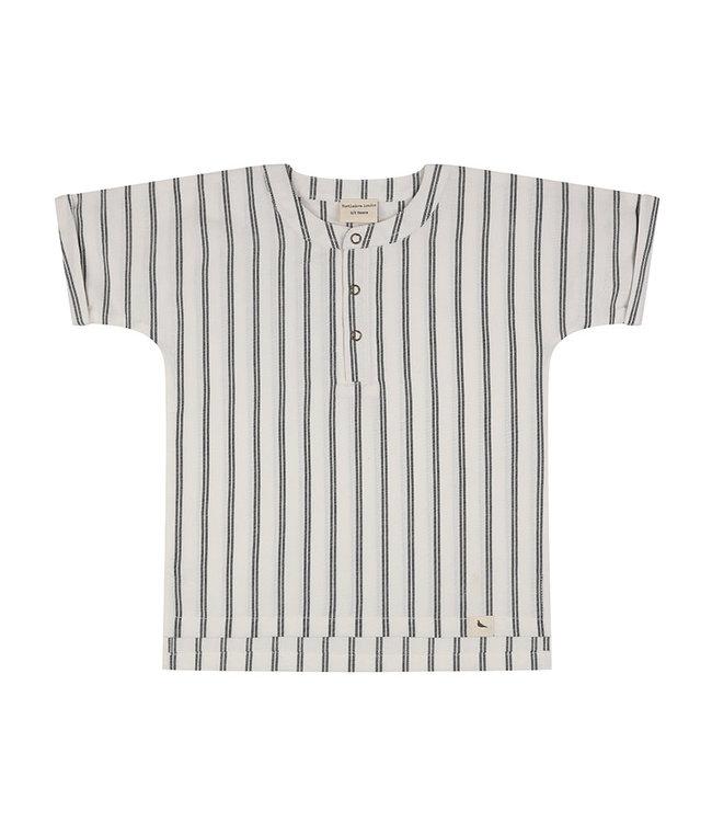 Turtledove Wide Stripe Shirt