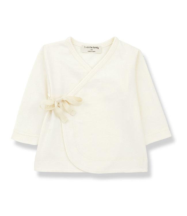 1+ in the family Newborn Shirt Babette Ecru