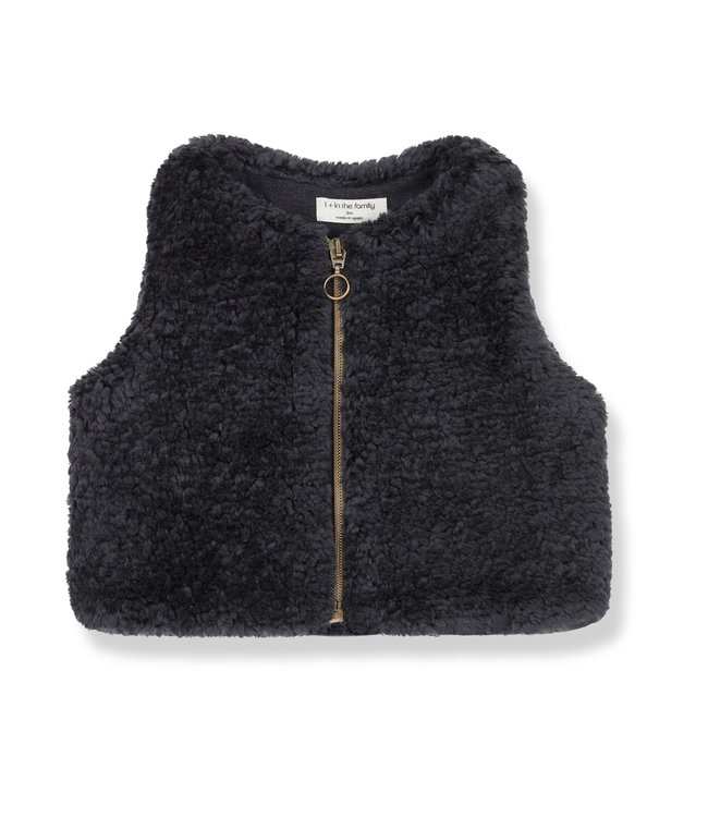 1+ in the family Vest Casilda Charcoal