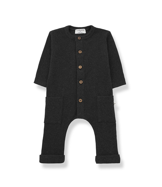 1+ in the family Jumpsuit MILOS Charcoal