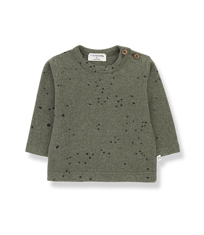1+ in the family Shirt MAE Olive