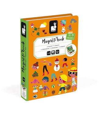 Janod Magneetboek Seizoenen