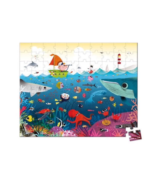 Janod Puzzel Onderwater