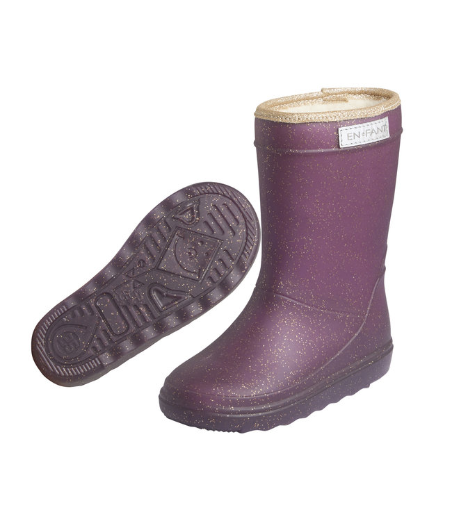 En Fant Thermoboot Glitter Paars