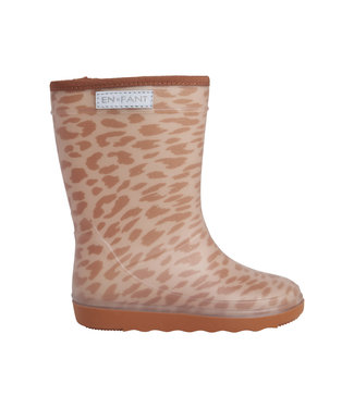 En Fant Thermoboot leopard Sand