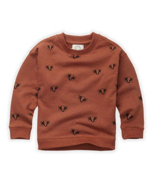 Sweatshirt Badger Print