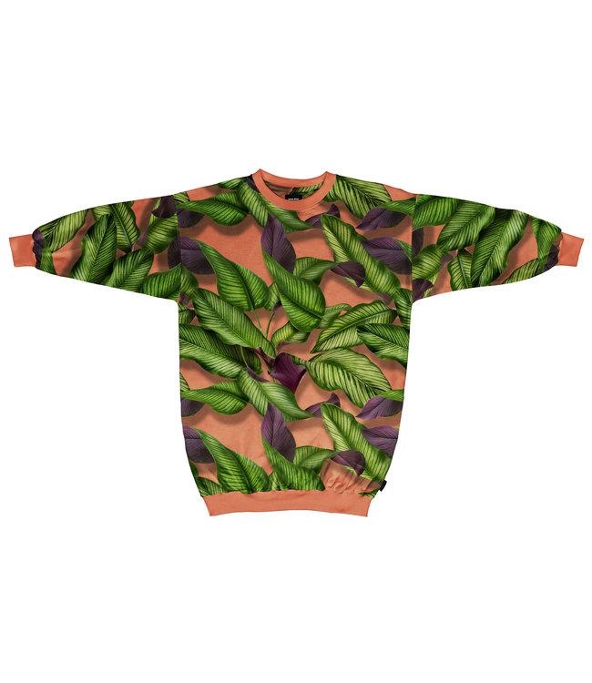 Snurk Amsterdam Sweaterdress Fresh Leave Maat S