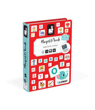 Janod Magneetboek ABC Nederlands