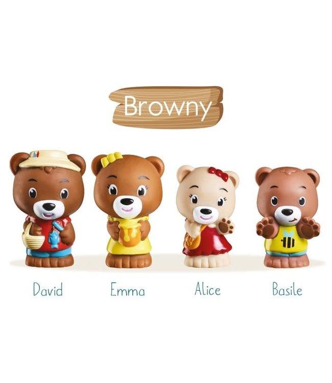 De Klorofil Speelset Browny Family
