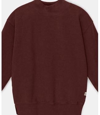My Little Cozmo Sweatshirt Organic Basic Garnet