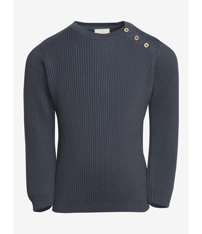 En Fant trui Pullover Knit Blauw