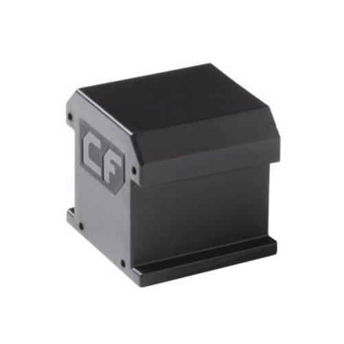 Esdec ClickFit EVO - Eindkap zonder eindklemsteun zwart