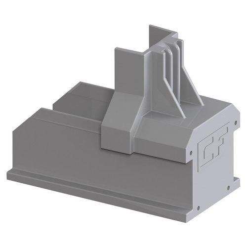 Esdec ClickFit EVO eindkap montagerail grijs