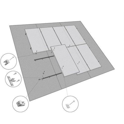 Esdec Clickfit Basic Eindkap Zwart