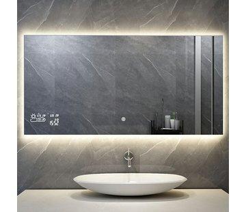 Quality Heating Spiegel met Wifi, tijd en infrarood verwarming 60 x 120 cm 500 Watt