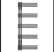 AF-UC Chrome badkamer handdoekradiator - Quality Heating