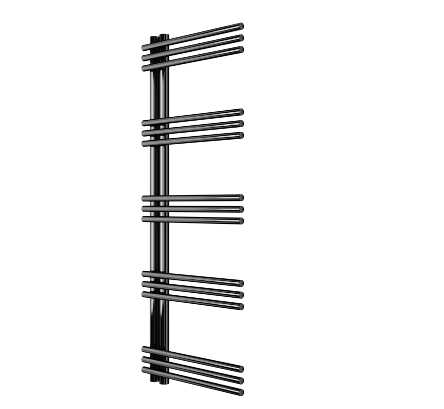 AF-UC Chrome badkamer handdoek radiator - Quality Heating