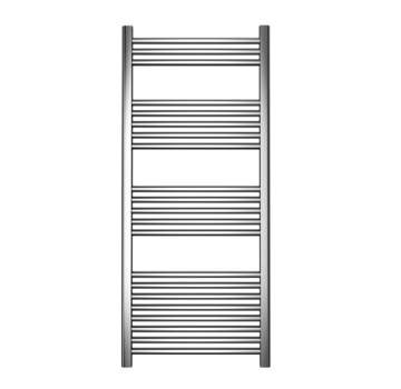Wit en Chrome AF-CN badkamer handdoek radiator - Quality Heating