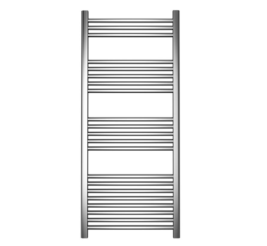 Wit en Chrome AF-CN badkamer handdoek radiator - Quality Heating