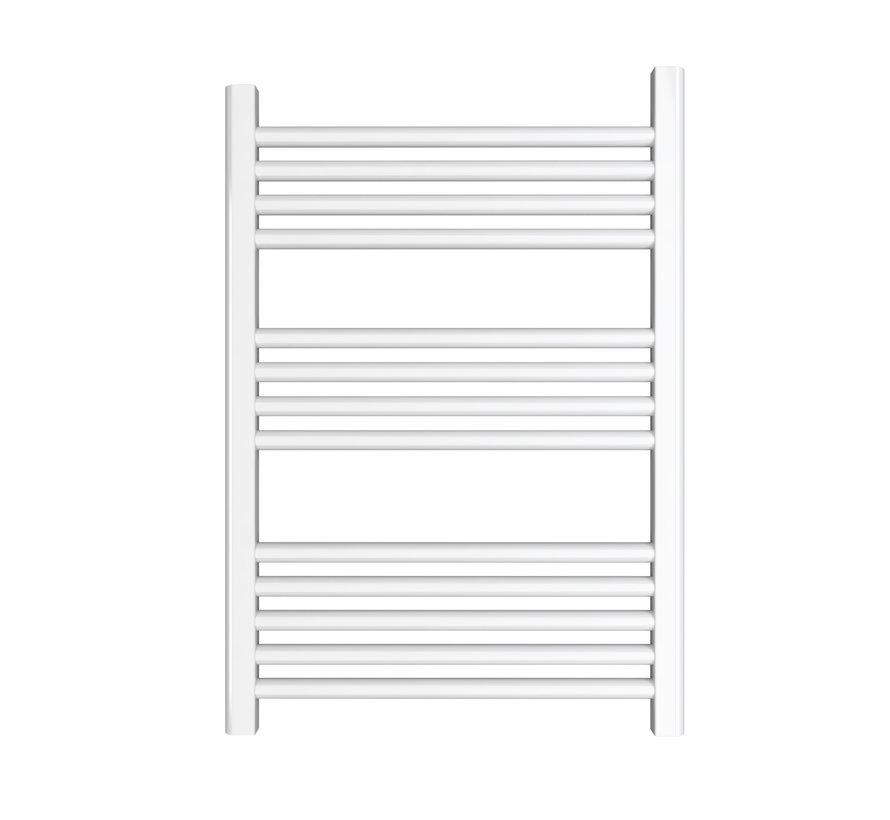 Wit en Chrome AF-CN badkamer handdoekradiator - Quality Heating