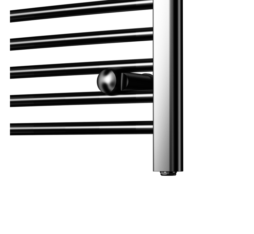 Wit en Chrome AF-UK badkamer radiator - Quality Heating