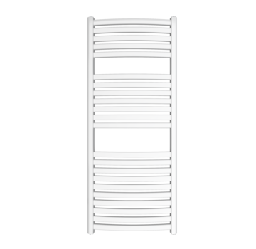 Wit en Chrome AF-SE badkamer radiator - Quality Heating