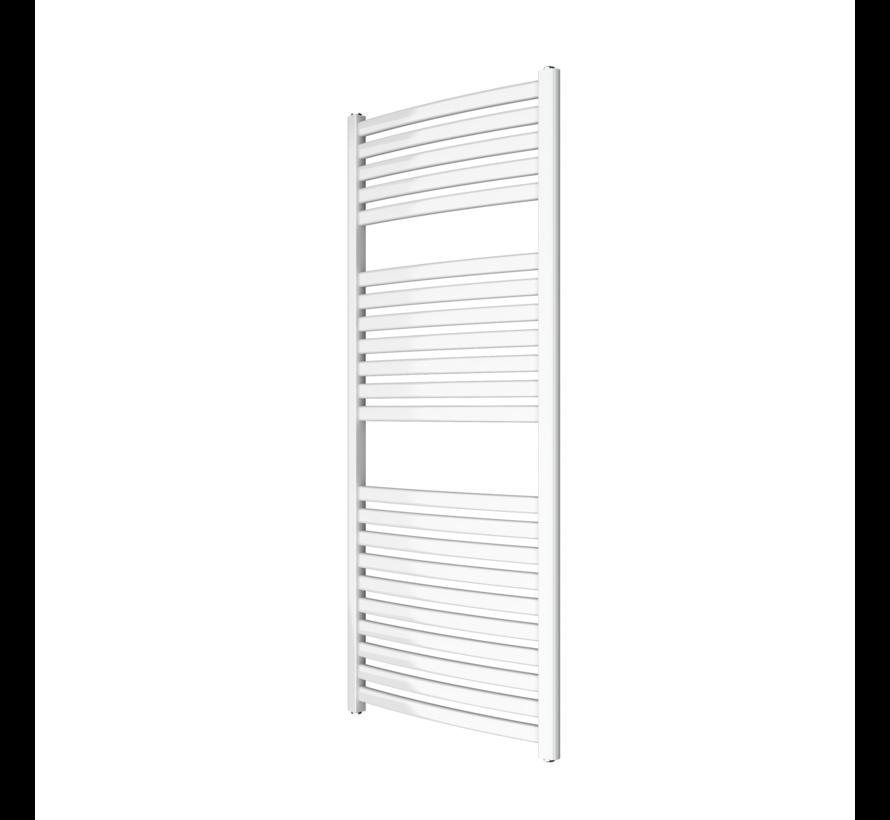 Wit en Chrome AF-SE badkamer radiator - Quality Heating