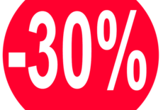 30% korting op alle badkamer radiatoren