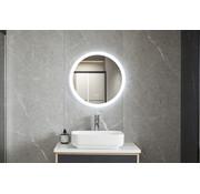 Bella Mirror Spiegel rond 80 cm frameloos, inbouw led verlichting en anti condens