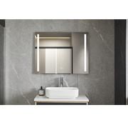 Bella Mirror Spiegel 60 x 100 cm frameloos, inbouw led verlichting en anti condens