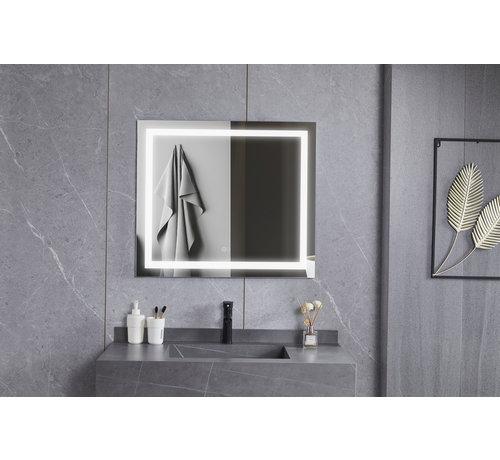 Bella Mirror Spiegel 70 x 120 cm frameloos, inbouw led verlichting en anti-condens
