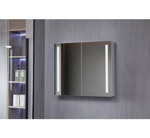 Bella Mirror Spiegelkast met led verlichting 80 (b) x 70 cm (h)