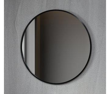 Bella Mirror Spiegel rond 100 cm met zwart frame