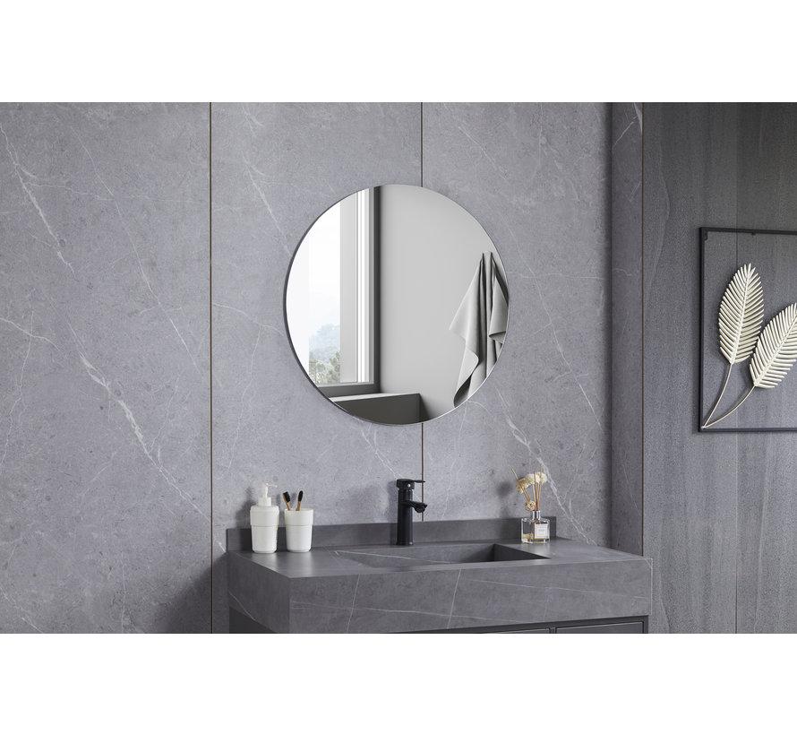 Spiegel rond 80 cm frameloos
