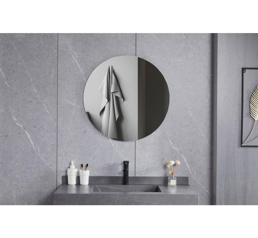 Spiegel rond 60 cm frameloos