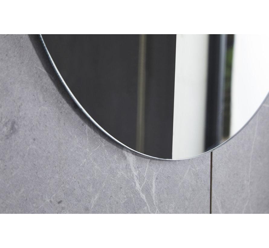 Spiegel rond 100 cm frameloos