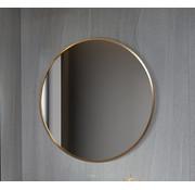 Bella Mirror Spiegel rond 80 cm met gouden frame