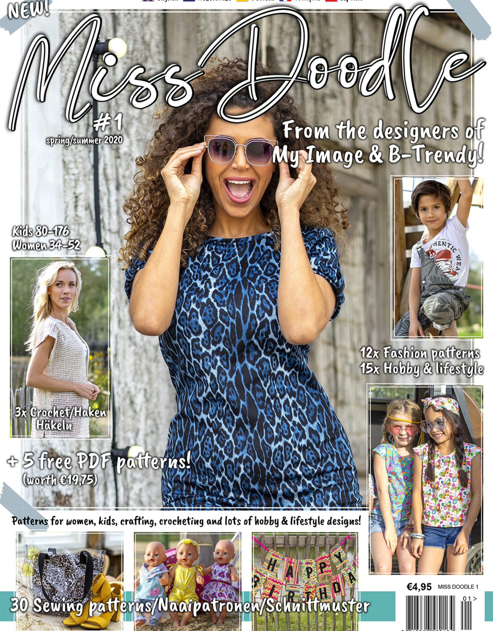 Miss Doodle Miss Doodle magazine - editie nummer 1