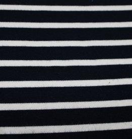 punta di roma stripe navy/wit